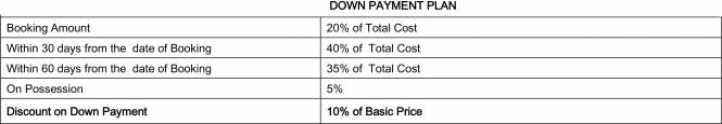 Krish Aura Payment Plan