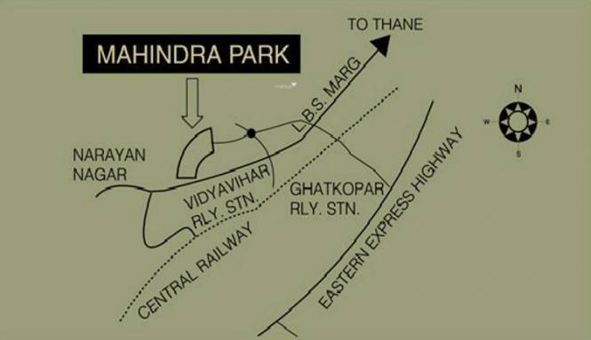 Mahindra Park Location Plan