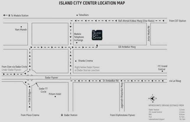 The Bombay Dyeing And Manufacturing Company ICC Location Plan