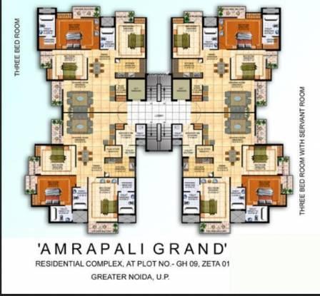 Amrapali Grand Cluster Plan