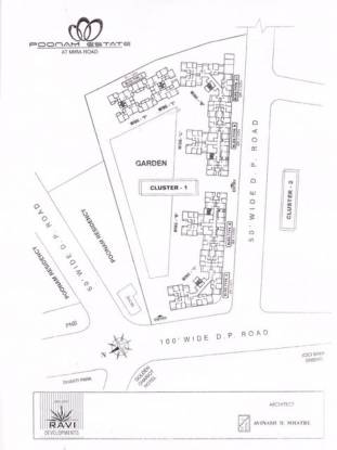 Unique Poonam Estate Cluster 1 Master Plan