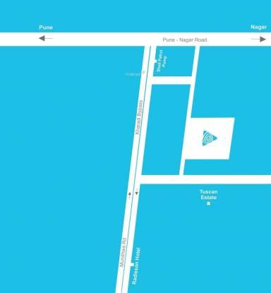 Eklavya Ekaika Location Plan