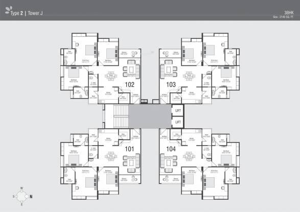 JP Iscon Habitat Cluster Plan