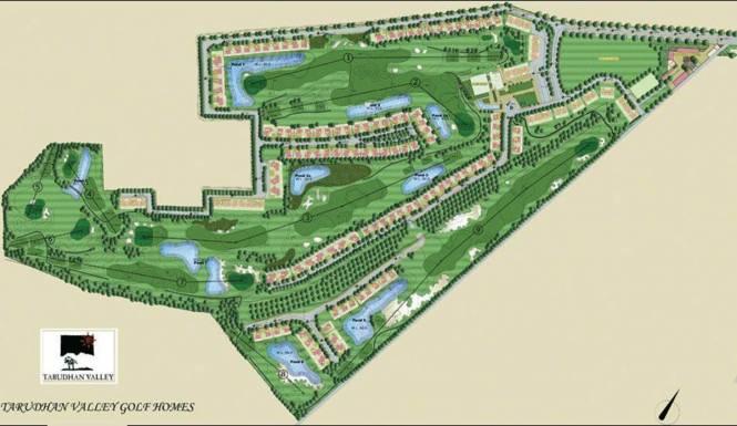 Silverglades Tarudhan Valley Golf Resort Layout Plan