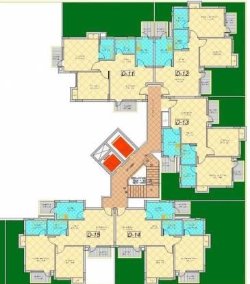 Shiv Park 1 Apartments Cluster Plan