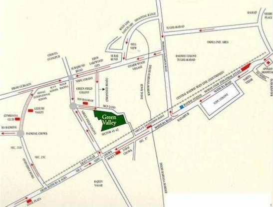 RPS Green Valley Location Plan