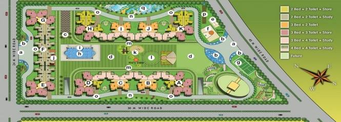 Fusion Homes Layout Plan