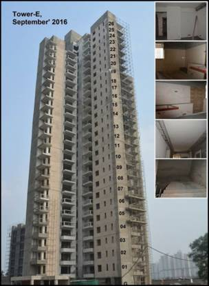 Alpha Gurgaon One 84 Construction Status