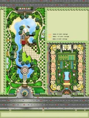 Radhey Casa Greens 1 Master Plan