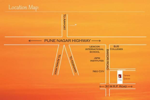 Madhuban Serene Spaces Location Plan