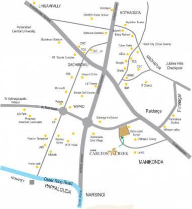 carlton-creek Images for locationPlan