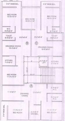 BK Keshab Dham Cluster Plan