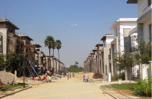 Keerthi Richmond Villas Construction Status