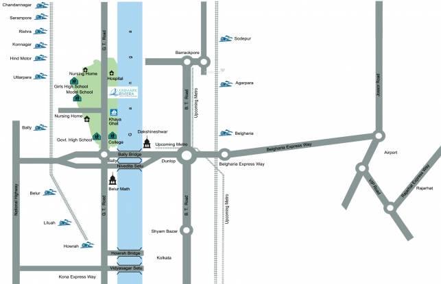 Unimark Riviera Location Plan