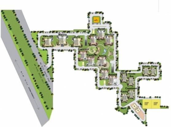 Pardesi Ushay Tower Layout Plan