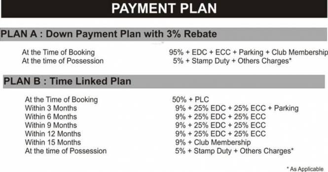 Pardesi Ushay Tower Payment Plan