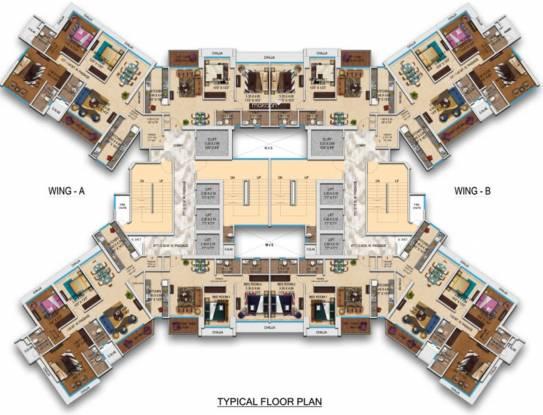 Transcon Transcon Triumph Tower 1 Cluster Plan