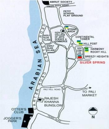 Rizvi Silver Springs Location Plan