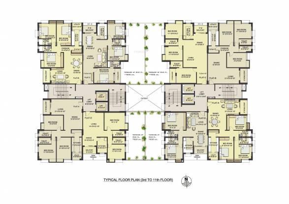 Bengal Saroshi Cluster Plan