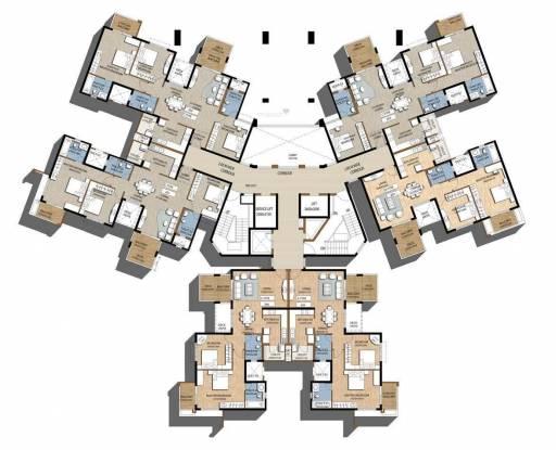 Puravankara High Crest Cluster Plan