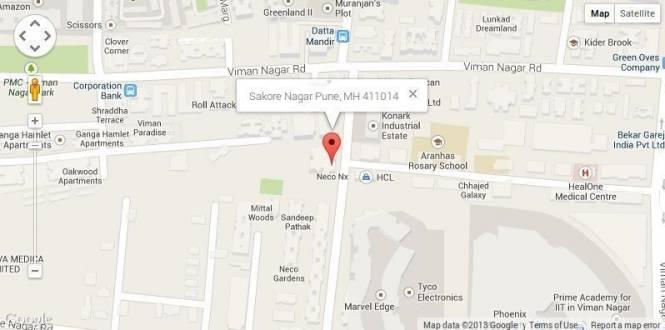 Vasupujya Neco Nx Location Plan