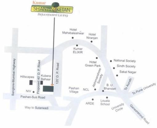 KUL Shantiniketan Phase II Location Plan