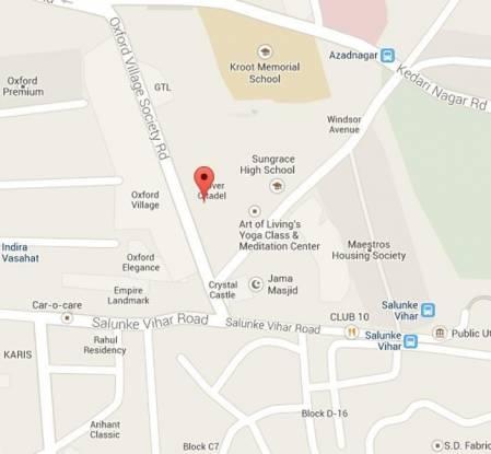 Clover Citadel Location Plan