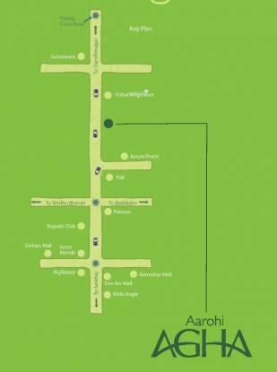 Siddhi Aarohi Agha Location Plan