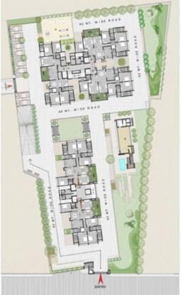 Aaryavart Aaryavart Skies Site Plan