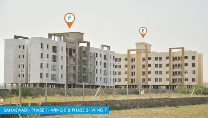 Maple Aapla Ghar Sanaswadi Construction Status