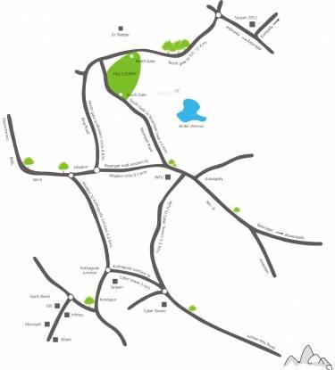 Hill County Hill County Villa Location Plan