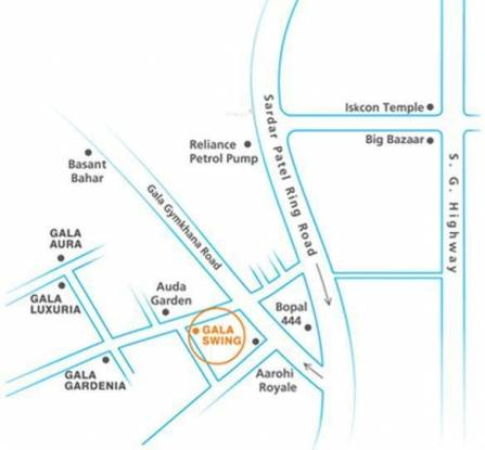 Gala Swing Location Plan