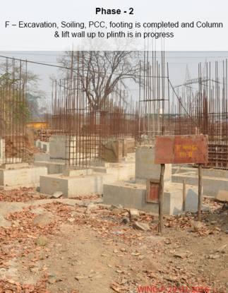 Ahuja Prasadam Construction Status