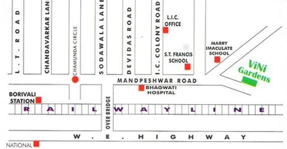 Vini Garden Location Plan