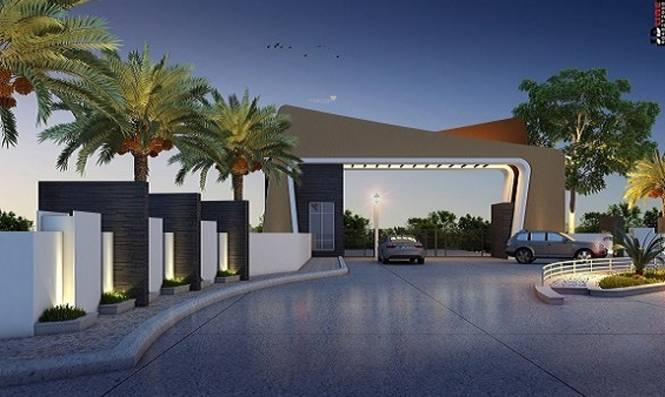Niyas Libdom Luxury Villas Elevation