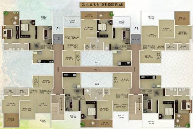 Alcon Springvalley Cluster Plan