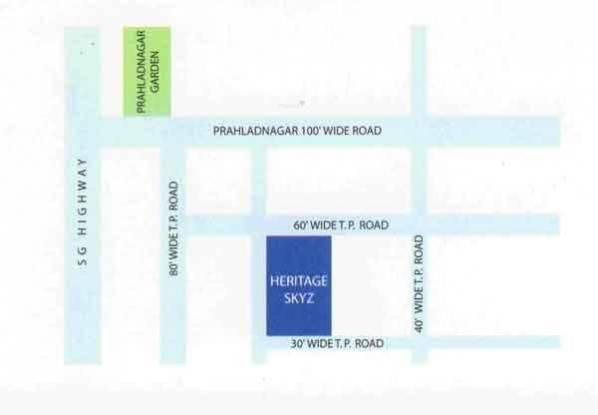 Adi Skyz Location Plan