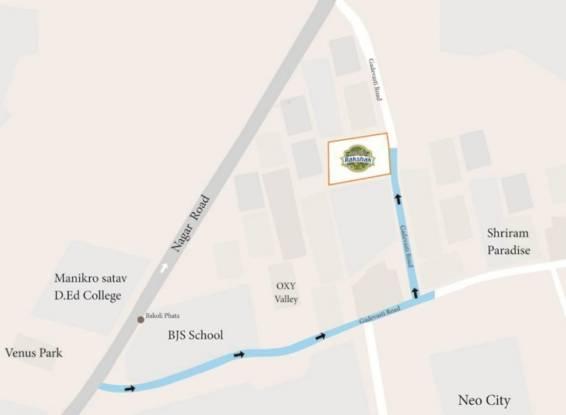 Dreams Rakshak Location Plan