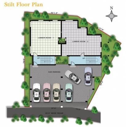 Deva Shre Homes Cluster Plan