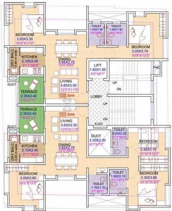Swojas Sargam Cluster Plan