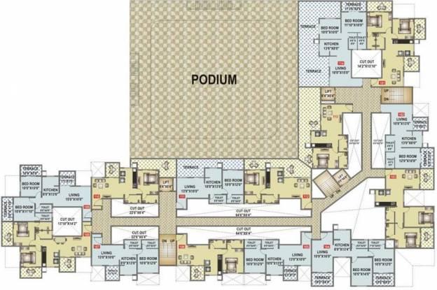 Venkatesh Oxy Ultima Cluster Plan