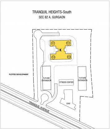 Vatika Tranquil Heights Layout Plan
