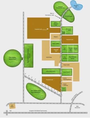 Ram Rose Valley Layout Plan