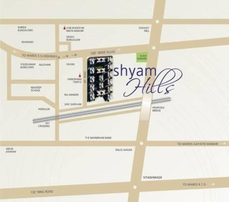 Shri Shyam Hills Location Plan