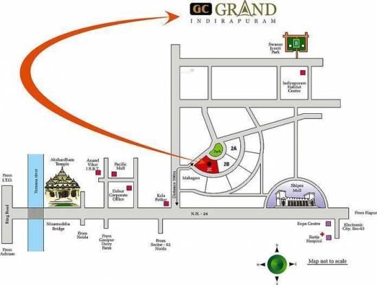 Gulshan Grand Location Plan