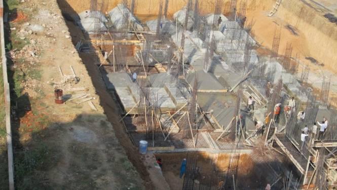 Navkar Kalasagar Heights Construction Status