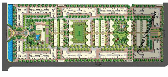 Mahindra Bloomdale Villa Layout Plan