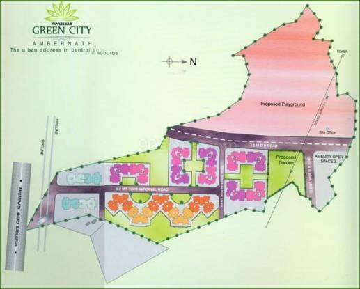 Panvelkar Green City Layout Plan