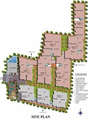 SV Brindavanam Site Plan