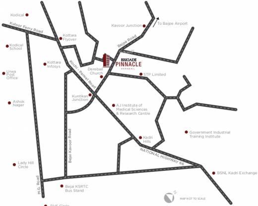 Brigade Pinnacle Location Plan